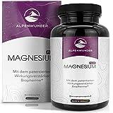 Alpenwunder Magnesium hochdosiert Kapseln, 100%...