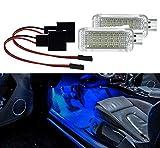 AutoLight24 2 X reposapiés Iluminación LED SMD Módulo para el golf 5 6 7 Polo 6R 6C Leon A1 A3 A4 A4 B6 B7 B8 A4 A5 A6 C6 A6 C7 A7 A8 4E para