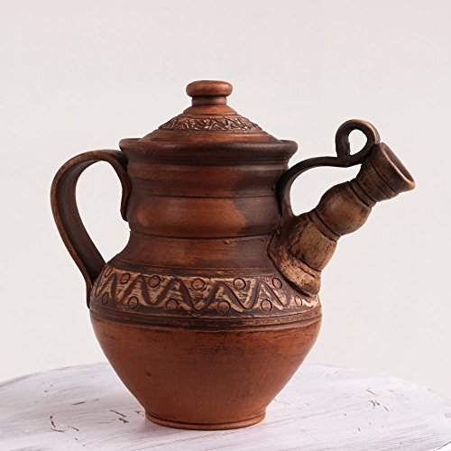 Pottery teapot Handmade ceramic Milky ceramic teapot
