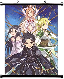 Sword Art Online Anime Fabric Wall Scroll Poster (16 x 22) Inches.[WP]-Sword-55