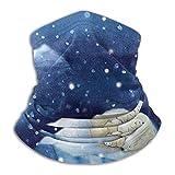 Cuello Azul The Bears Snow Gorros de Punto al Aire Libre Lana Snow Ski Capss