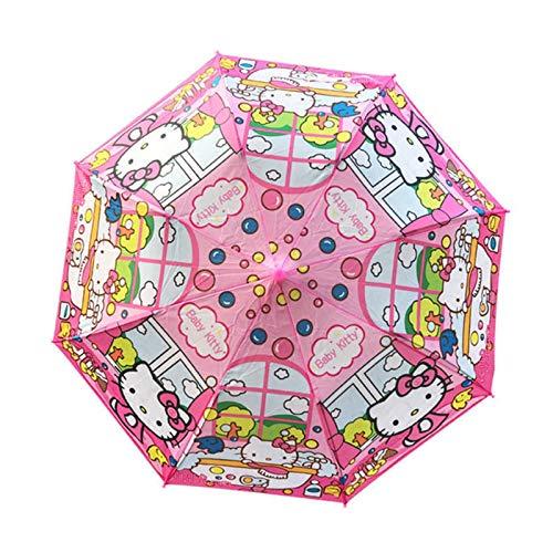 DONGMAISM umbrella Children Spiderman Cars Umbrella Semi-automatic Student...