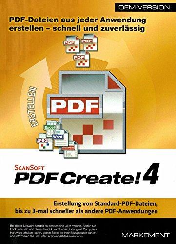 Scansoft PDF-Create 4 OEM