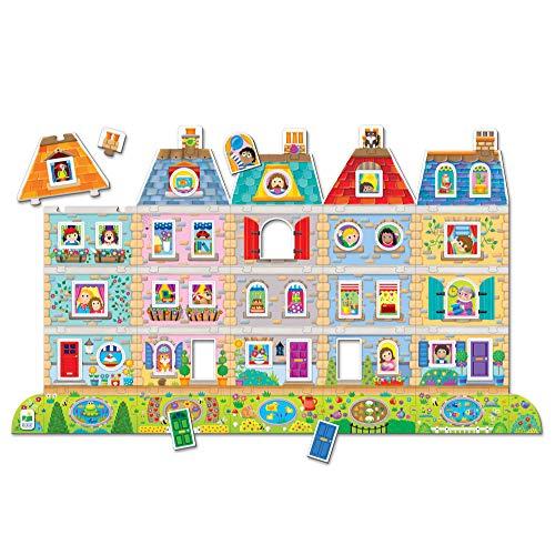The Learning Journey - Puzzle Dobles! Crear una Escena - Barrio - Rompecabezas para niños - Juegos y Regalos para niños y niñas a Partir de 3 años - Juego y Rompecabezas galardonados