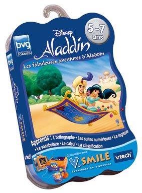 Vtech–Cartouche de Spiel v. Smile Aladdin–92205Kochtöpfe