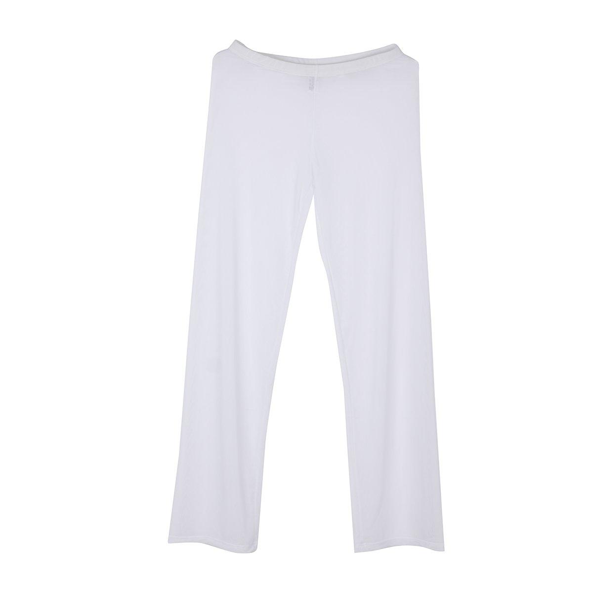 iixpin Homme Pantalon Vêtement de Sport Demi Transparent Lingerie de Nuit Bas de Pyjama Lâche Fitness Sexy Yoga Pyjamas de Pantalon Bar Pub sous-vêtement Taille S-XL