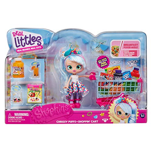 Shopkins Real Littles Shopp'n Cart Pack, Multicolor (57465)