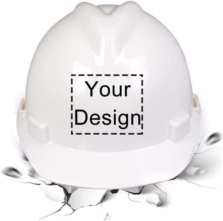 High Ranking TOP8 Popular popular Visibility Reflective Safety Hard Logo Customize Protec Hat