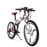 cysum TOP860 vélo électrique Ebike pneu antidérapant de 26 pouces d'épaisseur batterie 36V * 12.8ah 3 Modes Trois entrepôt Europe vélo électrique à frein à disque hydraulique