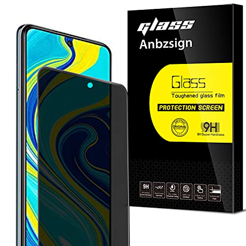 Anbzsign [2 Pack] Redmi Note 9S / Note 9 Pro/Note 9 Pro 5G (6.67