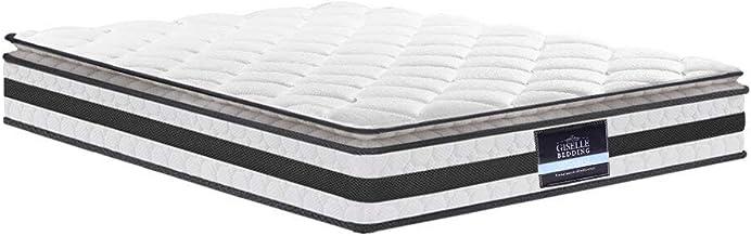 Giselle Bedding Double Size Pillow 21cm Top spring Foam Top Mattress perfect firmness, better support, better ventilation,...