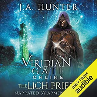 Page de couverture de Viridian Gate Online: The Lich Priest