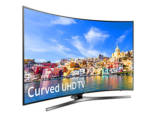 "SAMSUNG UN55KU750DFXZA LED Curved 4K 120 MR Full HD Smart TV, 55"" (Certified Refurbished)"