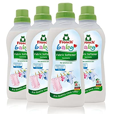 Frosch Baby Natural Liquid Fabric Softener for Sensitive Skin, 25.36 fl oz