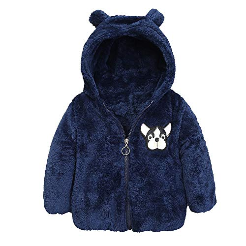 squarex squarex Baby Mädchen (0-24 Monate) Schlafanzugoverteil 12 Monate Gr. 2-3 Jahre, dunkelblau