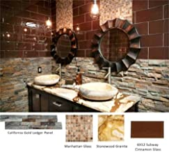 MS International California Gold Ledger Panel 6 in. x 24 in. Natural Quartzite Wall Tile - half pallet (60 pcs / 60 sqf)