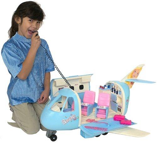 Barbie Blue Jet Air Plane (Mattel 22007)
