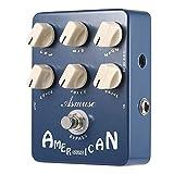 Asmuse American Sound Effect Pedal Simulador de amplificador Pedal de efecto de guitarra True Bypass AE-03