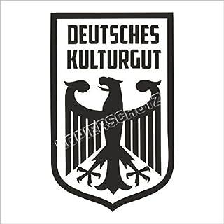 521 < Deutsches Kulturgut >GEPLOTTETER AUFKLEBER STICKER USW.