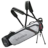 Taylor Made 2020 Quiver Ultra Lite Golf Stand Bag Grey/Black
