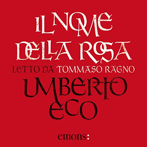 Il nome della rosa audiobook cover art