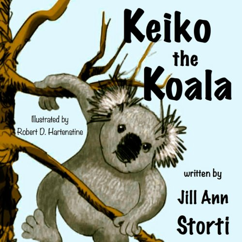 Keiko the Koala audiobook cover art