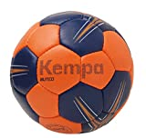 KEMPA - BUTEO - Ballon Handball - Toucher Doux - Ballon de Match - rouge vif/bleu profond