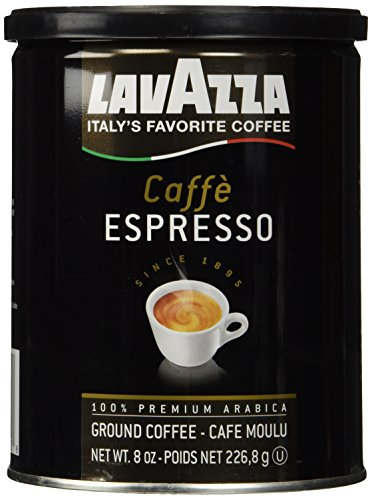 Lavazza Caffe Espresso Ground Coffee, Medium 8 oz