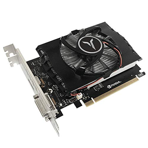 Game Graphics Card,Video Card GT1030 4G 64bit DDR4 Gaming Desktop Computer PC Video Graphics Card,Support DVI HDMI-Compatible 1152 1380MHz 14nm