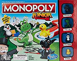 Fun Activities for Thanksgiving, Monopoly Junior Board Game
