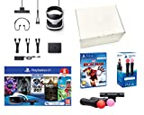 PlayStation VR2 Méga Pack V2 Marvel's Iron Man VR + Astro Bot + Skyrim V + Resident Evil 7 + Everybody's Golf + VR Worlds + Paire Move Twin Controllers Avec deux contrôleurs de mouvement PlayStationMove, vous pouvez lancer des jets répulsifs Iron Man...