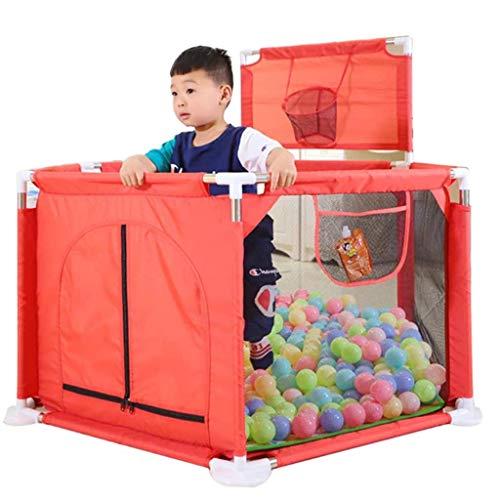 LUNAH Baby Crawl Toddler Playpen Valla de Patio portátil para bebés para áreas de Juegos de Seguridad en Interiores y Exteriores Anticaídas Robustos Parques de Seguridad para niños