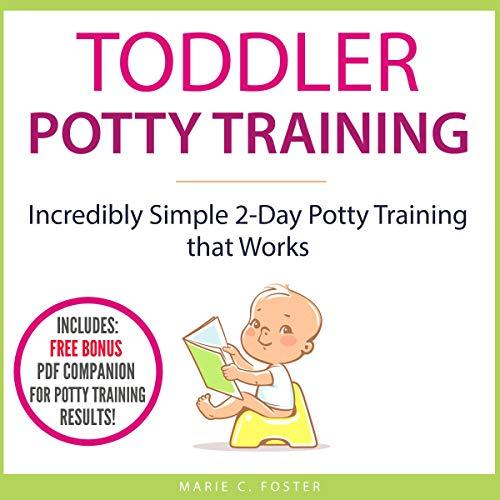 Toddler Potty Training audiobook cover art