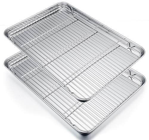 stainless steel breading tray - 9