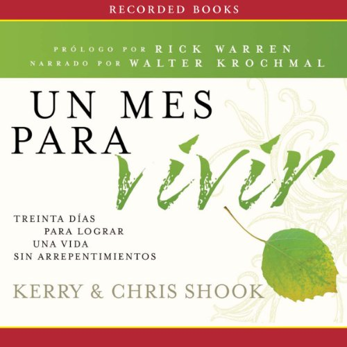 Un mes para vivir [One Month to Live] audiobook cover art