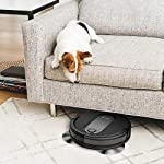 Shark IQ RV1001, Wi-Fi Connected, Home Mapping Robot Vacuum, Without Auto-Empty dock, Black 19 Unbeatable suction vs. any Shark robot vacuum for pickup of large and small debris, as well as pet hair on carpets and hard-floors. Self-cleaning brushroll removes pet hair and long hair from the brushroll as it cleans--no more hair wrap. Schedule whole-home cleanings or target specific rooms or areas to clean right now with the Shark Clean app or voice control with Amazon Alexa or Google Assistant.