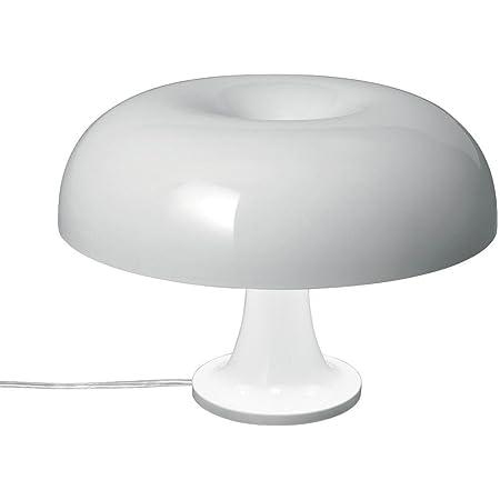 Artemide Nessino E1420W halogène blanc lampe de table lampes de table blanc, polycarbonate, salon, iP20, e14, 4Bulb (s))