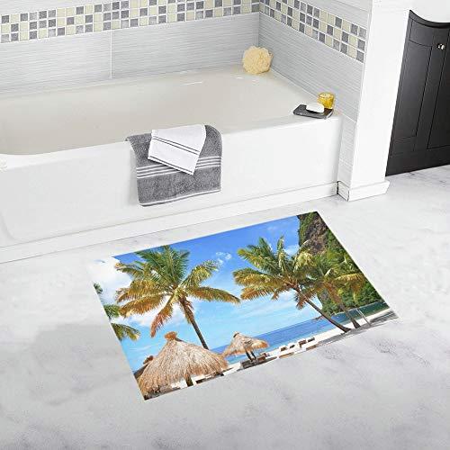 Badezimmer-Matte Waschbar bei + 40 Grad