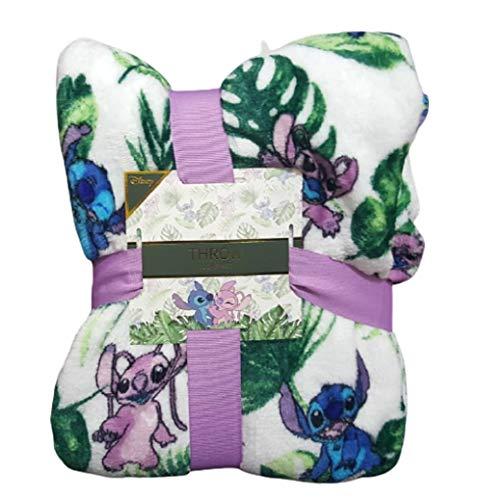 Primark Limited Disney Stitch Soft Fleece Überwurf Bett Decke Home Decor Geschenk Neu