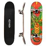 Best Beginner Skateboards - ChromeWheels 31 inch Skateboard Complete Longboard Double Kick Review