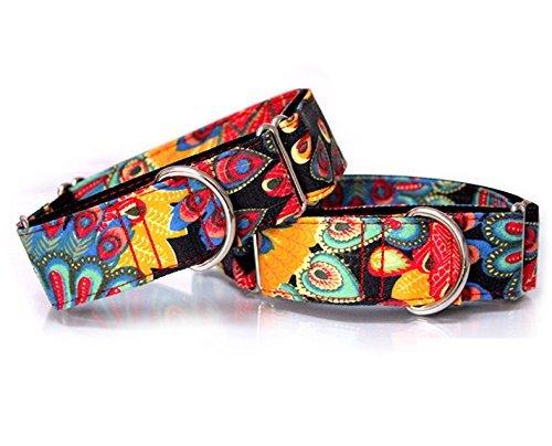 Hundehalsband, handgefertigt, personalisierbar, sehr stark und strapazierfähig, Martingale-Halsband für große Hunde