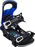 Bent Metal Logic Snowboard Bindings Mens Sz M (8-11) Blue