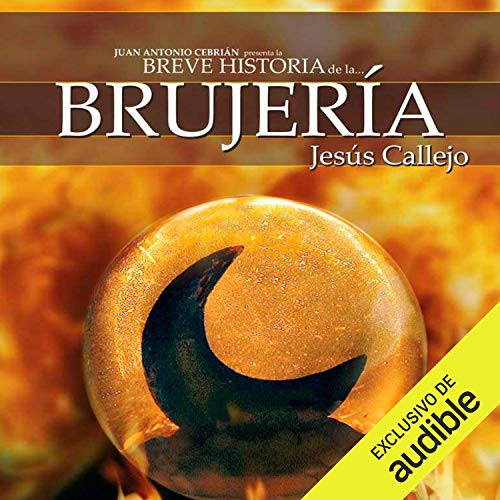 Diseño de la portada del título Breve historia de la brujería