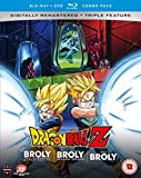Dragon Ball Z Movie Collection Five: The Broly Trilogy - DVD/Blu-ray Combo [Reino...