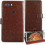 Lankashi Premium Retro Business Flip Book Stand Brieftasche Leder Tasche Schütz Hülle Handy Handy Hülle Für Gigaset GS370 Plus 5.7