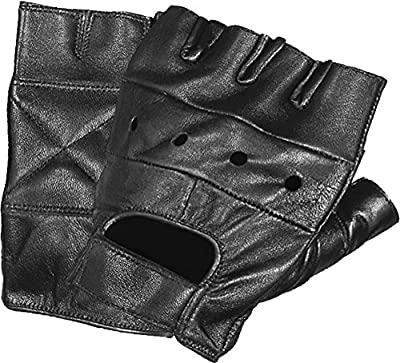 Ted and Jack - Strong as Steel Weight Lifting Fingerless Leather Glove