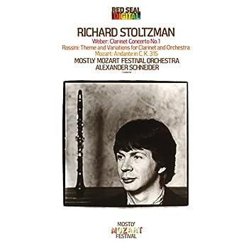 Richard Stoltzman Plays Weber, Mozart & Rossini