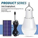 Ampoule solaire 15W USB Solar Power 5-8V Chargé lampe Panneau solaire Ampoule LED pour...