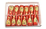 Amina Henna Instant Tatto Red Outline Mehndi / No Chemicals Dyes - Color Paste Cone (Red, 12 Piece) (Red)