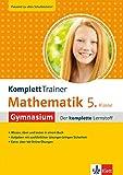 KomplettTrainer Mathematik 5. Klasse Gymnasium - der komplette Lernstoff mit über 100 Online Mathe Übungen